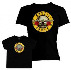 Duo Rockset Guns N' Roses Mutter-T-shirt & Kinder T-shirt