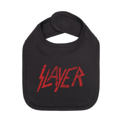 Slayer Baby Lätzchen rot Logo