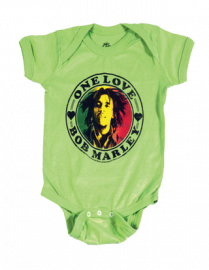 Bob Marley body baby rock metal One Love Lime