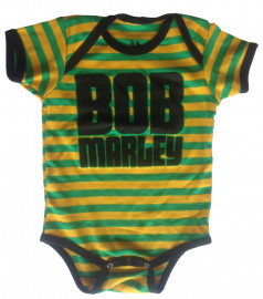 Bob Marley body baby rock metal Jamaica Stripe