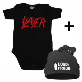 Slayer Baby Body & Loud & Proud Mützchen