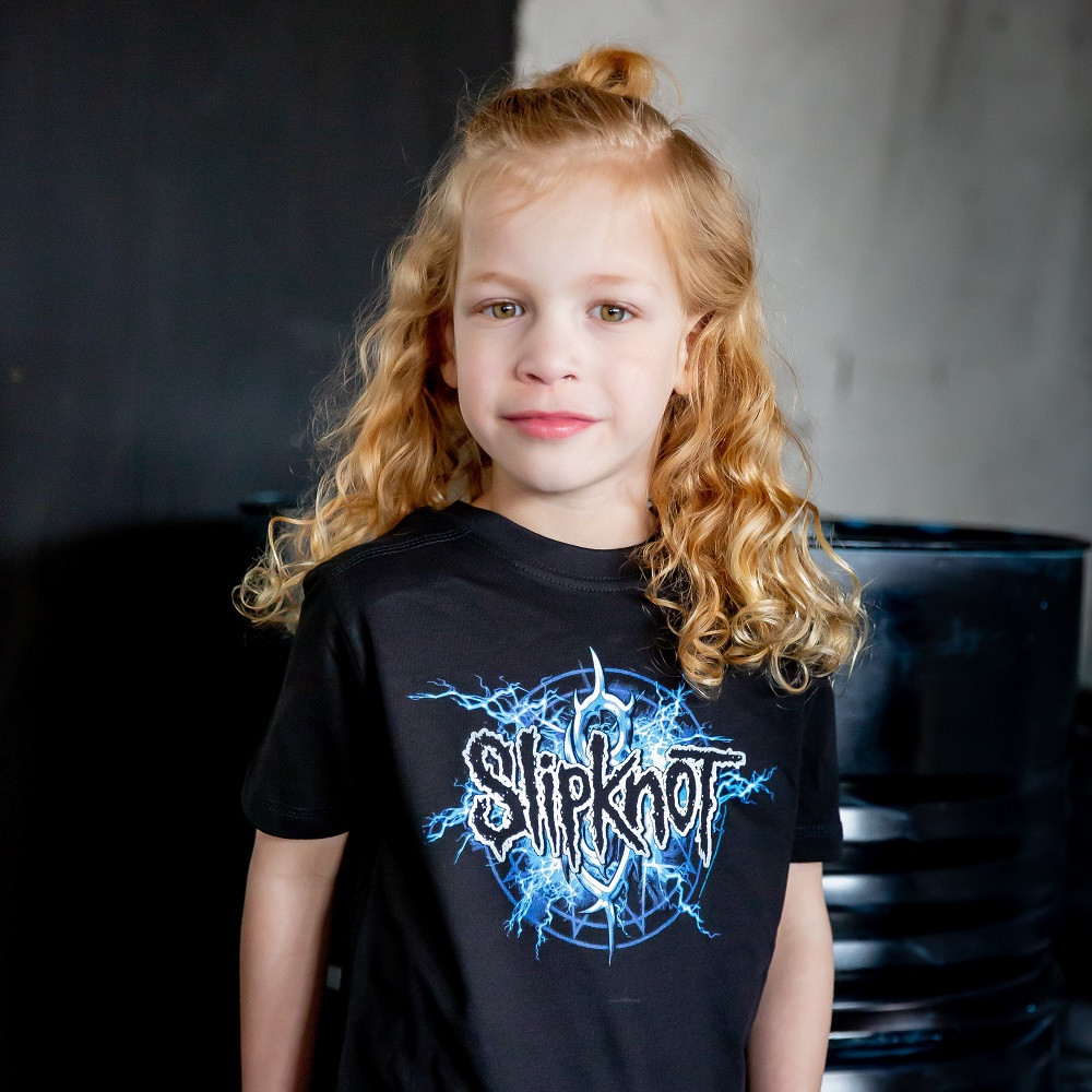 Slipknot Kinder T-Shirt - Metal-Kids t-shirt fotoshoot