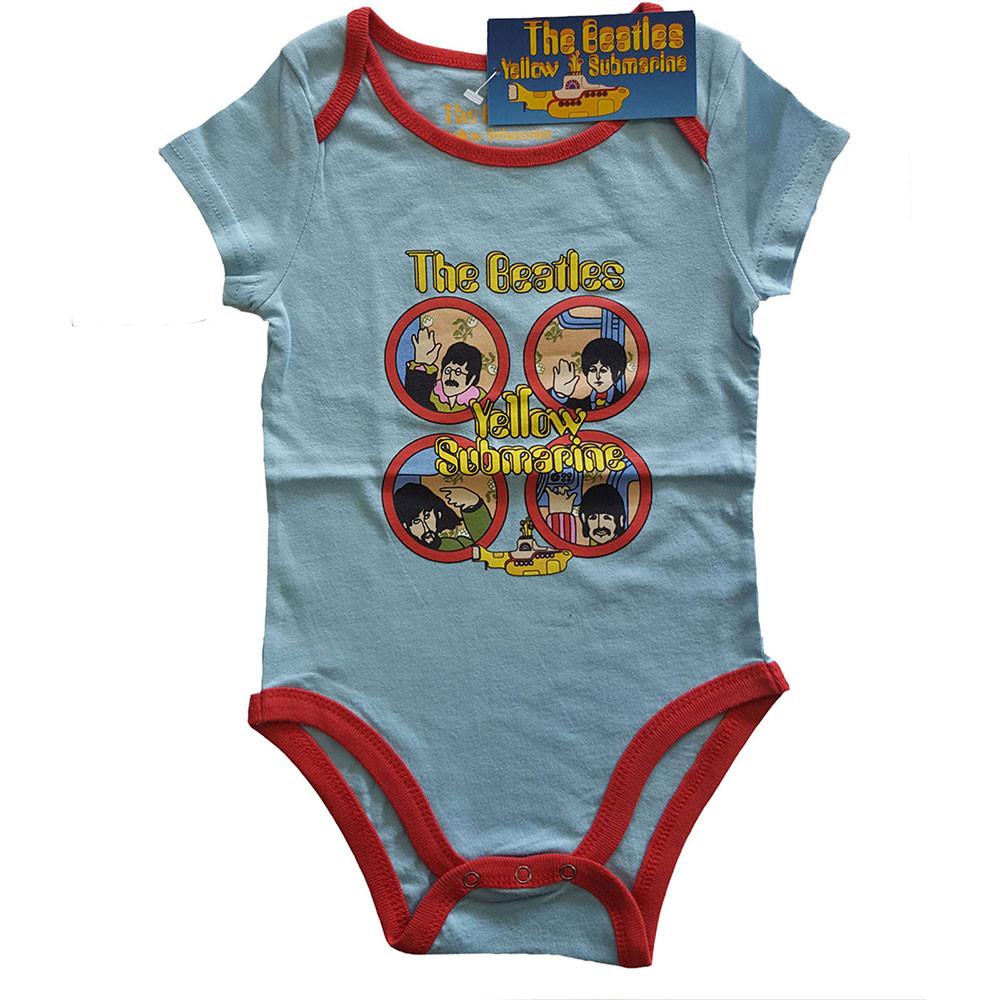 The Beatles Baby Body Yellow Submarine two-tone