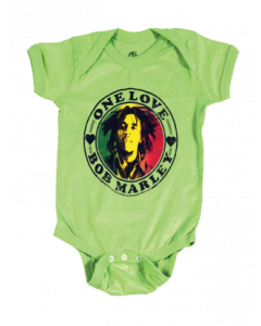 Bob Marley Baby Body One Love Lime
