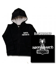 Amon Amarth Thor's Hammer kinder Sweater/Kapuzenjacke (print on demand)