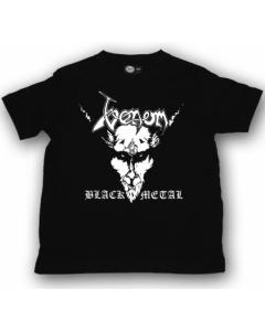 Venom Kinder T-Shirt Black Metal Venom