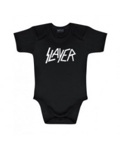 Slayer Baby Body Logo White