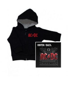 AC/DC Black Ice Metal kinder Sweater/Kapuzenjacke