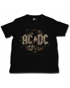 ACDC Metal-Kids T-Shirt Rock or Bust AC/DC