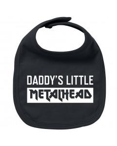 Metal Baby Lätzchen Daddy's little Metalhead