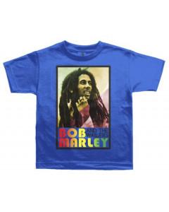 Bob Marley Kinder T-shirt Rasta