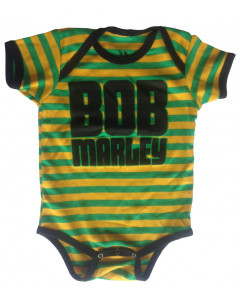 Bob Marley Baby Body Jamaica Stripe