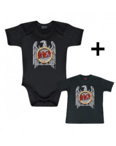 Slayer Baby Body Silver Eagle & Slayer Baby T-shirt Silver Eagle