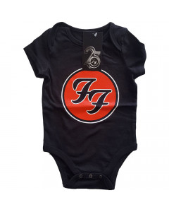 Foo Fighters Logo Red Baby Body