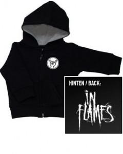 In Flames Logo baby Sweater/Kapuzenjacke (Print On Demand)