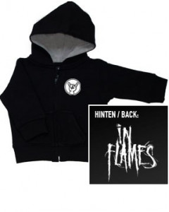 In Flames Logo kinder Sweater/Kapuzenjacke (print on demand)