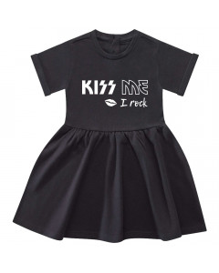 Kiss me I Rock Baby Kleid