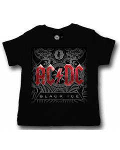 ACDC Baby T-Shirt Black Ice ACDC