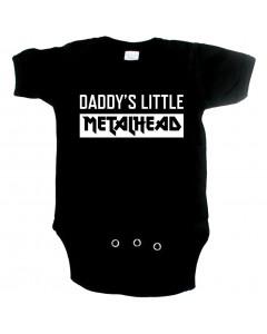 Metal Baby Strampler Daddys little Metal head