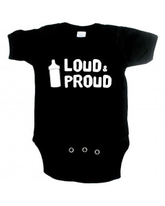Cool Baby Strampler loud and proud