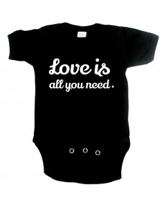 Cute Baby Strampler love is all you need