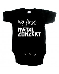 Metal Baby Strampler my first Metal concert