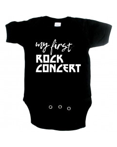 Rock Baby Strampler my first Rock concert
