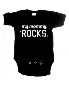Cool Baby Strampler my Mommy Rocks