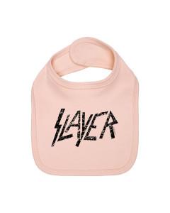 Slayer Baby Lätzchen Logo pink