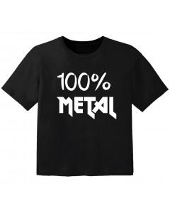 Metal Baby Shirt 100% Metal