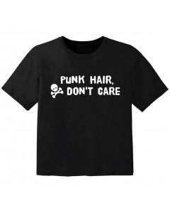 Punk Kinder Tshirt Punk hair don't care