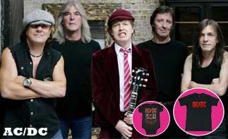 AC/DC rock baby kleidung
