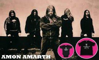 Amon Amarth rock baby kleidung