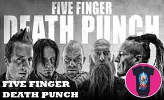 Five Finger Death Punch rock baby kleidung