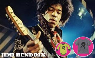Jimi Hendrix rock baby kleidung
