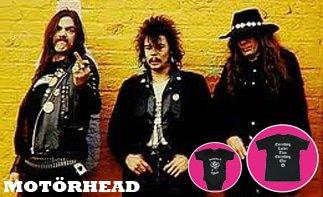 Motörhead rock baby kleidung