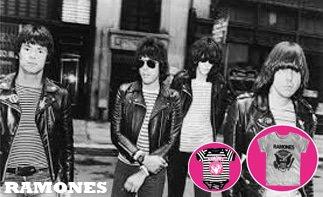 Ramones rock baby kleidung