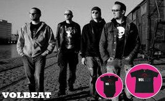 Volbeat rock baby kleidung